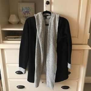 Forever21 Loose Fit Hooded Sweater